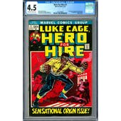 Hero For Hire #1 CGC 4.5 (OW-W) *2016706004*