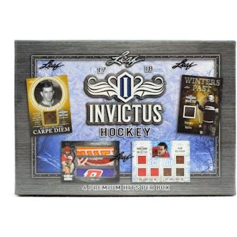 2017/18 Leaf Invictus Hockey Hobby Box