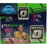 2018/19 Panini Donruss Optic Fast Break Basketball Box + 2 FREE 2019 FATHER'S DAY PACK!