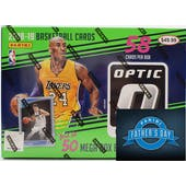 2018/19 Panini Donruss Optic Basketball 58ct Mega Box + 1 FREE 2019 FATHER'S DAY PACK!