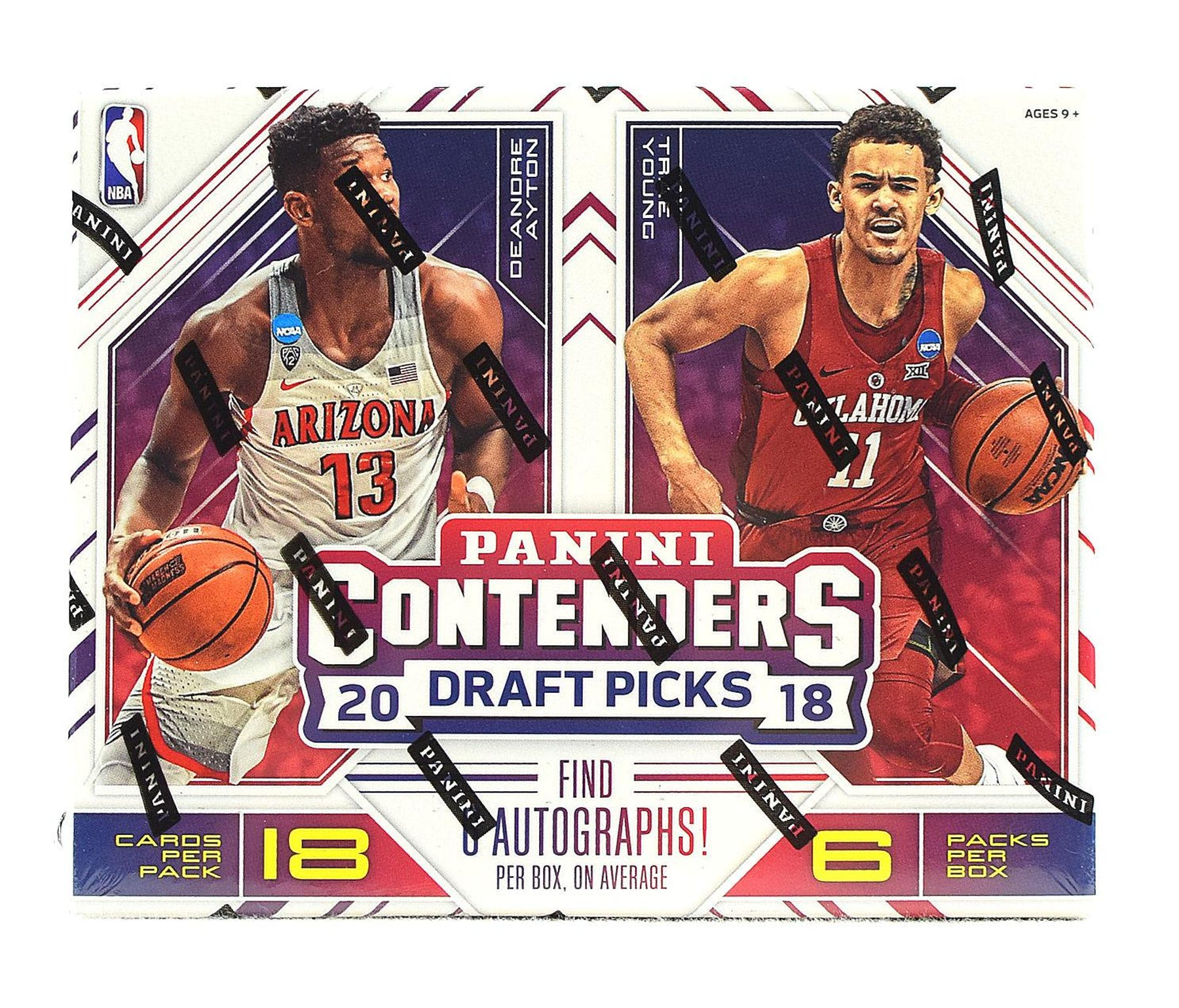 d906bf21b 2018 19 Panini Contenders Draft Basketball Hobby Box