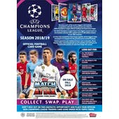 2018/19 Topps UEFA Champions League Match Attax Soccer Hobby Pack (due October)
