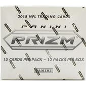 2018 Panini Prizm Football Super 12-Pack Box