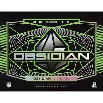 2018 Panini Obsidian Football 12-Box Case- 2018 Holiday 32 Spot Random Team  Break  1  c668a30c3