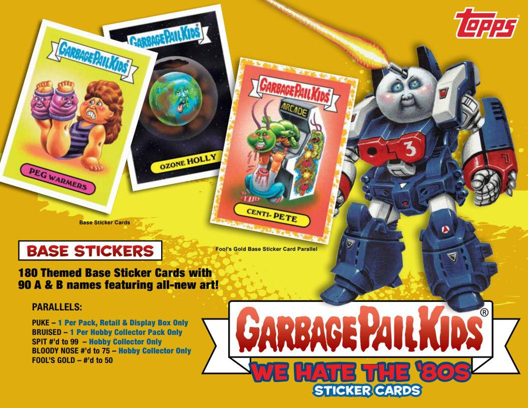 b3d3174a709 ... Garbage Pail Kids Series 1 We Hate The 80 s Collector Edition Box  (Topps 2018) ...