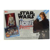 Star Wars Archives Signature Series Hobby Box (Topps 2018)