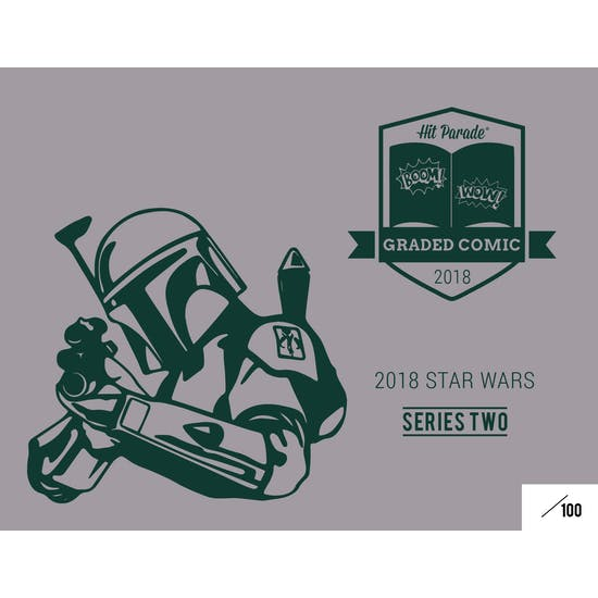 2018 Hit Parade Star Wars Graded Comic Edition 5-Box - Series 2- New Year 5 Spot Random Comic Break #1