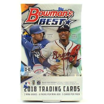 2018 Bowman's Best Baseball Case- New Year 26 Spot Random Team Break #5