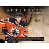 2019/20 Upper Deck Artifacts Hockey Hobby 10-Box Case (Presell)