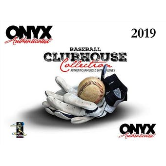 2019 Onyx Clubhouse Collection Baseball Hobby Box (Presell)
