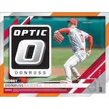 2019 Panini Donruss Optic Baseball Hobby 12-Box Case (Presell)