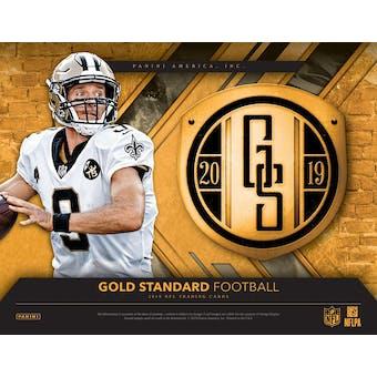 2019 Panini Gold Standard Football Hobby Box (Presell)