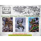 Art of TMNT Hobby Box (Topps 2019) (Presell)