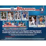 2019 Topps Factory Set Baseball (Box) (Presell)