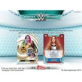 2019 Topps WWE Women's Division Wrestling Hobby 12-Box Case (Presell)