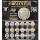 2019 TriStar Hidden Treasures Greats Of The Game Baseball Hobby 6-Box Case (Presell)