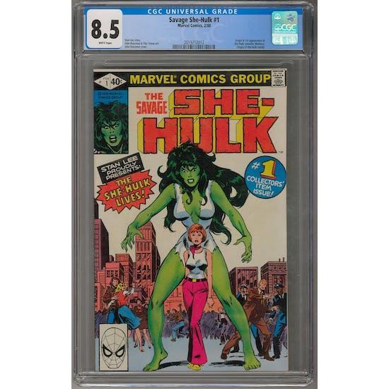 Savage She-Hulk #1 CGC 8.5 (W) *2019712012*