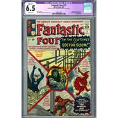 Fantastic Four #17 CGC 6.5 (OW) Restored A-1 *2019714007*