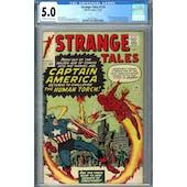 Strange Tales #114 CGC 5.0 (OW-W) *2019715011*