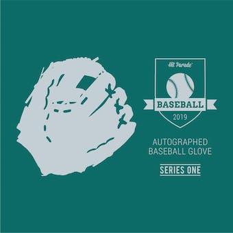 2019 Hit Parade Autographed Baseball Glove Hobby Box - Series 1 - Special Ed. Mariano Rivera Glove!!