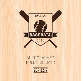 2019 Hit Parade Autographed Baseball Bat Hobby Box - Series 7 - Hank Aaron & Vladimir Guerrero Jr.!!!!!