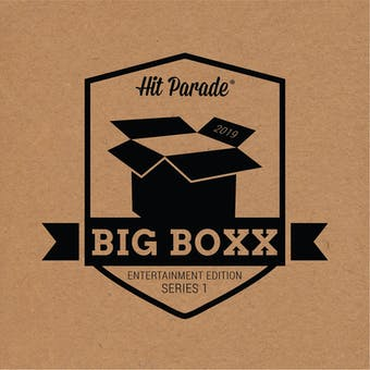 2019 Hit Parade BIG BOXX Entertainment Autographed Hobby Box - Series 1 - Jerry Seinfeld, Tom Hanks!