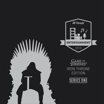 2019 Hit Parade Game of Thrones Edition - Series 1 - Hobby Box /50 Dinklage-Momoa-Harington