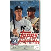 2019 Topps Series 1 Baseball Hobby Box (PLUS 1 Silver Pack!)