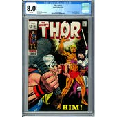 Thor #165 CGC 8.0 (W) *2023106004*