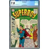 Superboy #41 CGC 7.0 (OW-W) *2027297010*