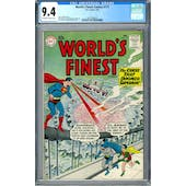 World's Finest Comics #115 CGC 9.4 (OW-W) *2027298016*