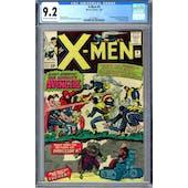 X-Men #9 CGC 9.2 (OW-W) *2027298017*