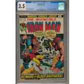 Iron Man #55 CGC 3.5 (OW-W) *2027872007*