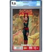 Captain Marvel #14 CGC 9.6 (W) *2027873019*