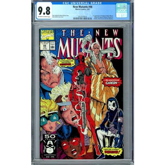 New Mutants #98 CGC 9.8 (OW-W) *2027874016*