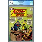 Action Comics #237 CGC 7.5 (OW-W) *2037692007*