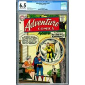 Adventure Comics #242 CGC 6.5 (OW-W) *2037692015*
