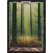 Magic the Gathering Unhinged Single Basic Forest FOIL - NEAR MINT (NM)