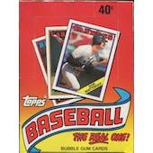 1988 Topps Baseball Wax Box