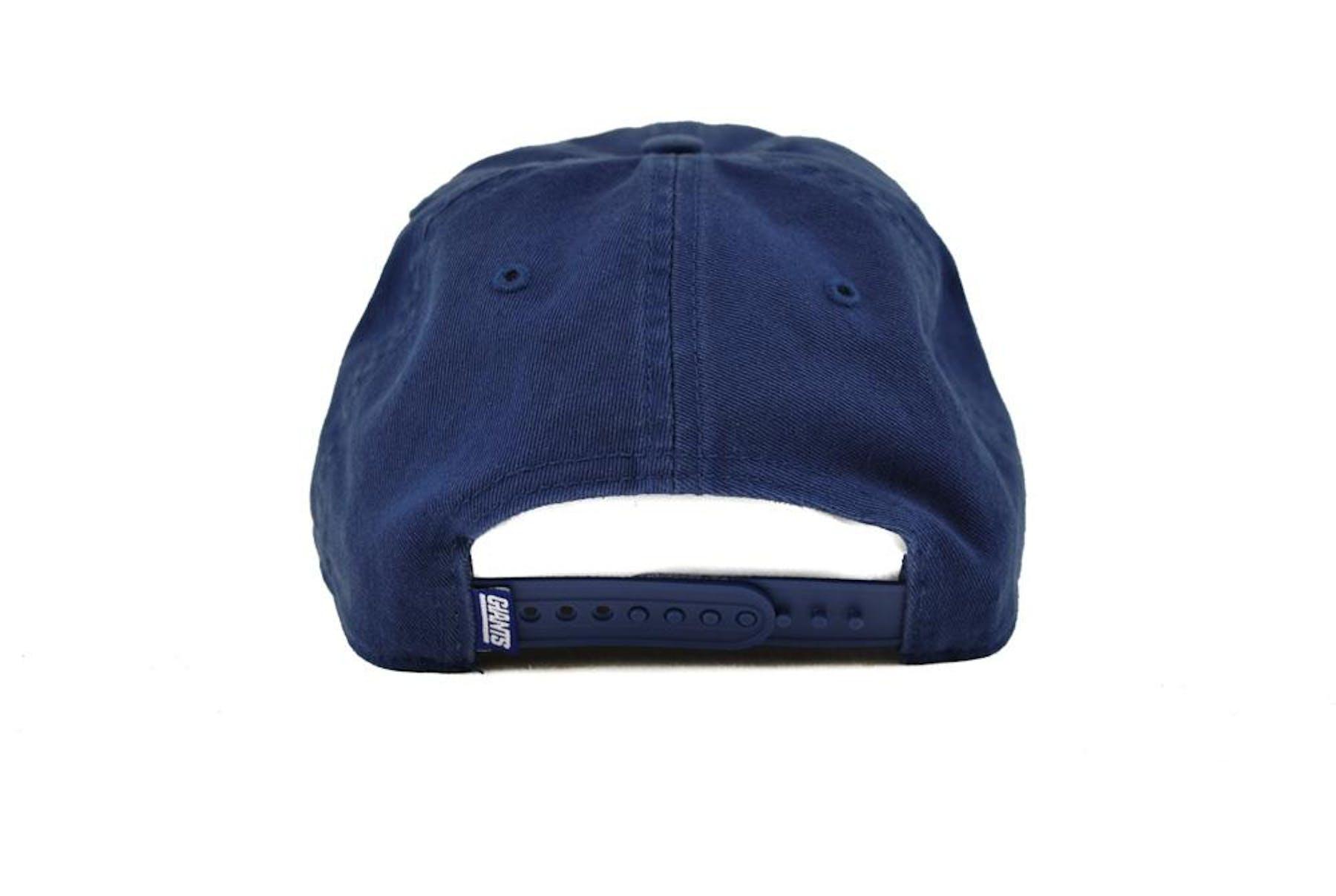 cf4930da2 New York Giants  47 Brand Royal Modesto Clean Up Snapback Hat (Adult One  Size)