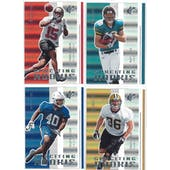 2005 Upper Deck SPX Football SPXciting Rookie Lot (66 cards)
