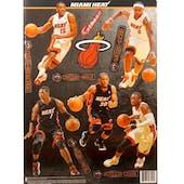 Fathead Miami Heat Team Set Wall Graphic (Lot of 10)