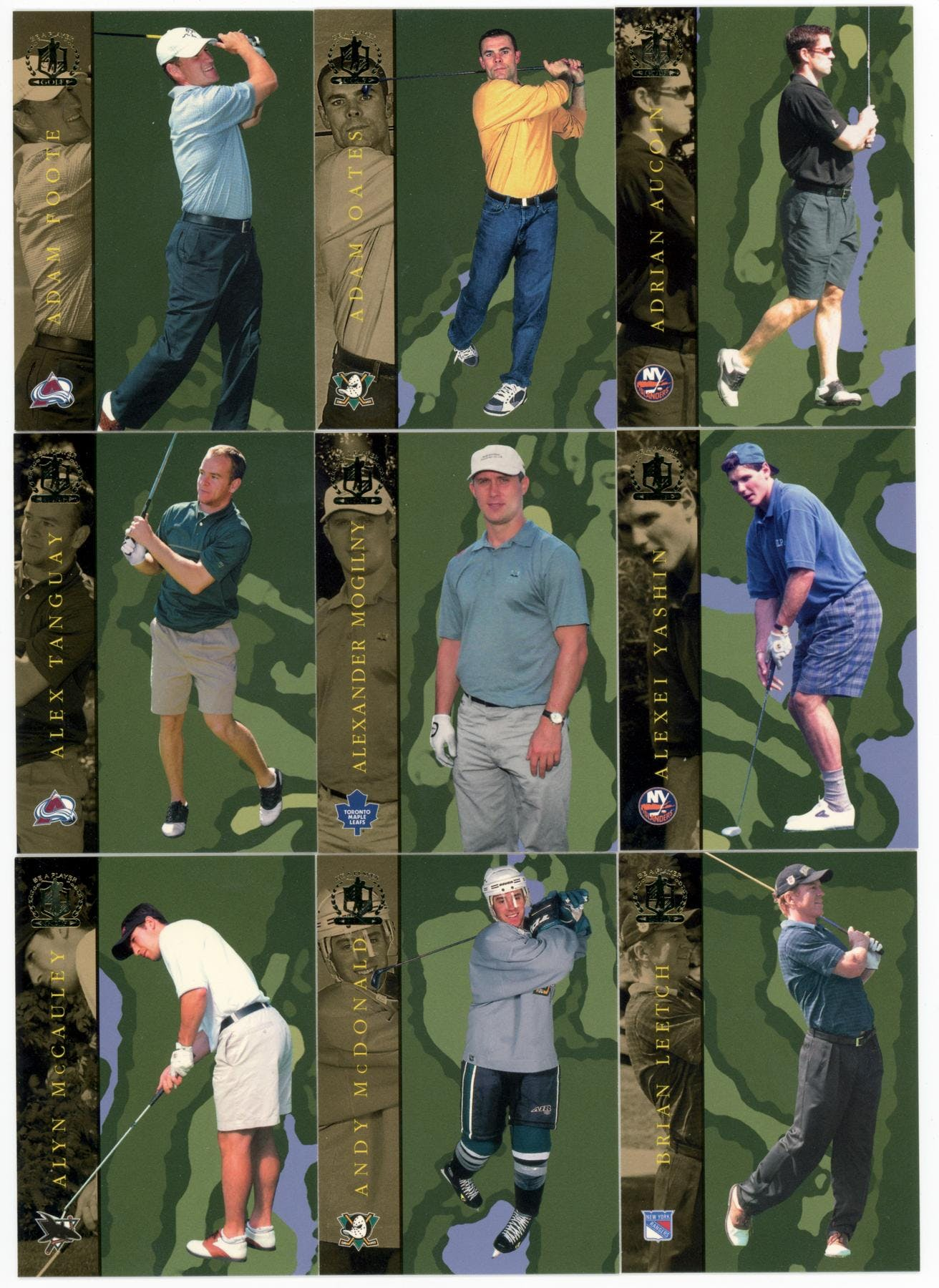 2002 03 itg bap signature series golf complete 100 card set da card world. Black Bedroom Furniture Sets. Home Design Ideas