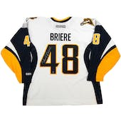 Daniel Briere Autographed Buffalo Sabres XXL White Hockey Jersey