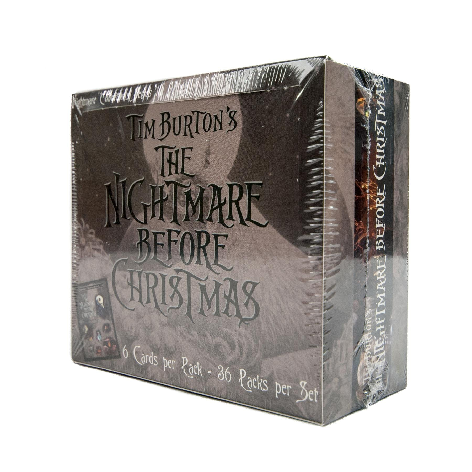 Nightmare Before Christmas Movie Trading Cards Box (NECA 2001) | DA ...