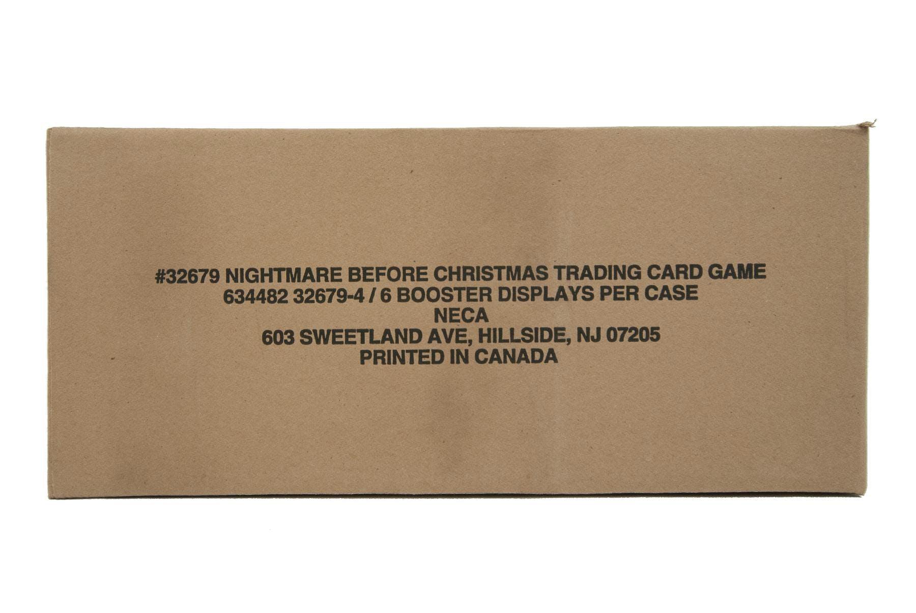 Nightmare Before Christmas TCG Booster 6-Box Case (NECA 2005)   DA ...