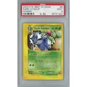Pokemon Best of Game Dark Ivysaur 6 - Winner Single PSA 9