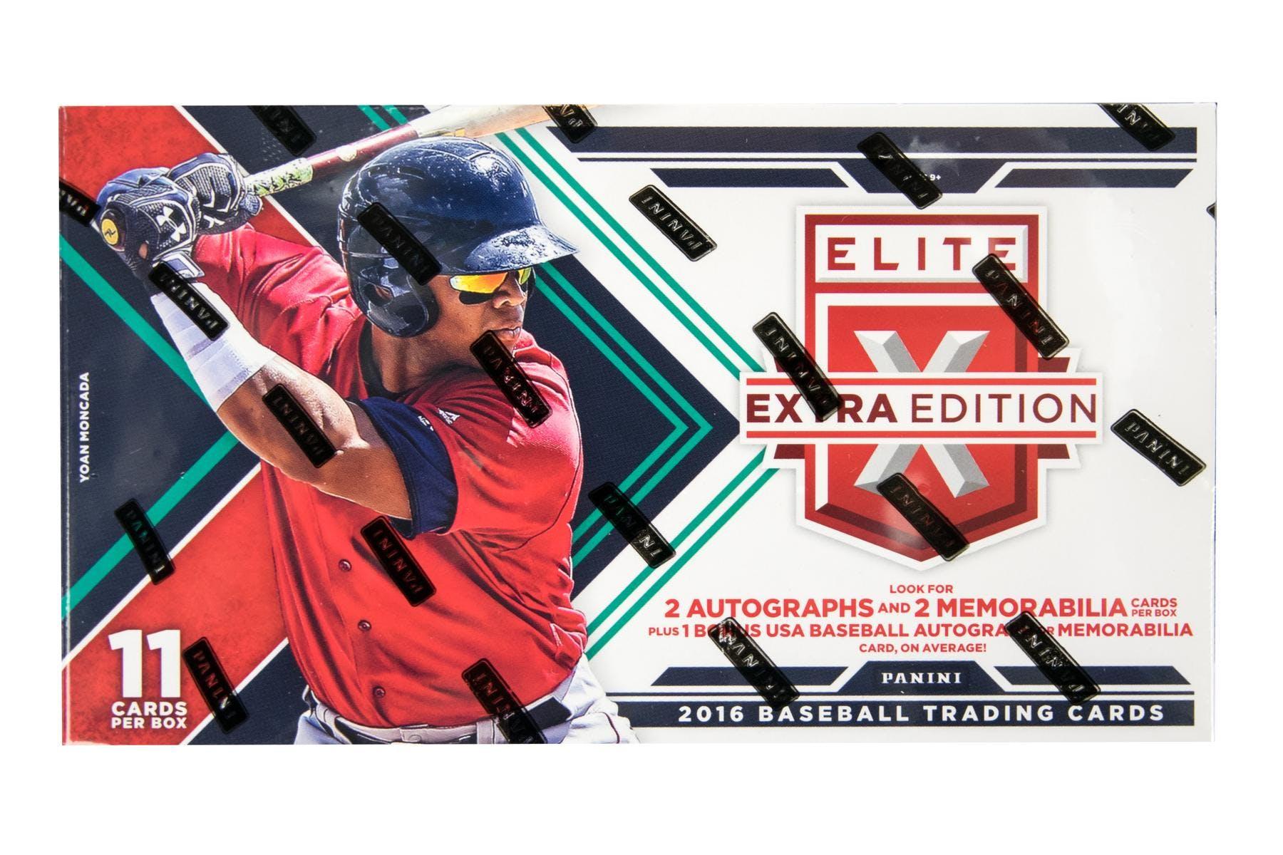 27badd51cb0 2016 Panini Elite Extra Edition Longevity Baseball Box