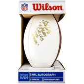 Andre Reed Autographed Buffalo Bills Wilson White Football Wagons inscription
