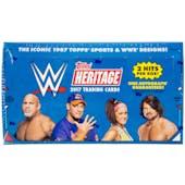 2017 Topps WWE Heritage Wrestling Hobby Box